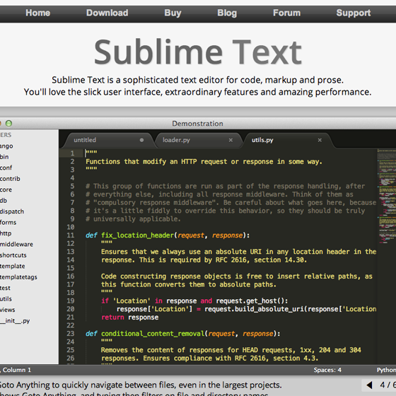 SublimeText 2